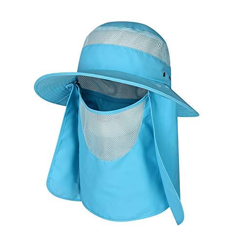Zdmathe Angeln Flap Caps Männer Frauen Quick Dry 360 Grad Sonnenschirm UV Schutz Abnehmbare Maske Gesicht Ohr Nackenwärmer Outdoor Sportswear Zubehör