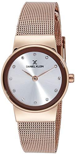 Daniel Klein Analog Silver Dial Women's Watch-DK11674-2