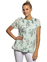 7d0449e2e72 Abbino IG022 Blusas Camisas Shirts para Mujer - Hecho en Italia - 5 Colores  - Sale