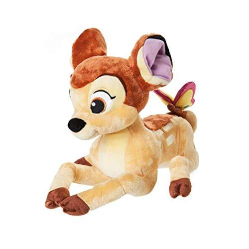 8HAOWENJU Plüschpuppe, kleine Hirsch Plaque Schmetterling Plüschpuppe Geburtstagsgeschenk Puppe Geschenk -