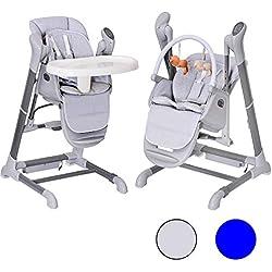 Le SPLITY 3 en 1 : Chaise Haute, Balancelle, transat.Toutes options (MP3, chargeur.)