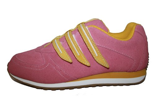 Jela Kinderschuhe 11.371.25 Mädchen Halbschuhe Pink (pink/gelb)