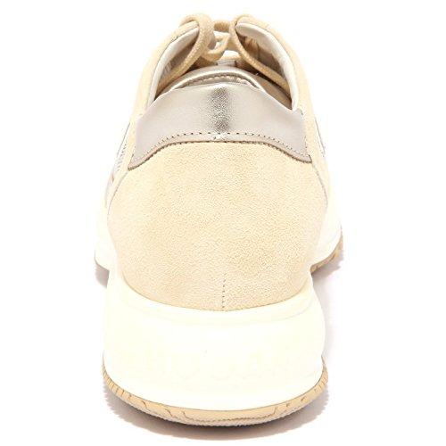 3962Q sneaker HOGAN INTERACTIVE beige scarpa donna shoe woman Beige
