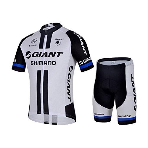 Strgao 2016 Herren Pro Rennen Team Giant MTB Radbekleidung Radtrikot Kurzarm und Radhosen Anzug Cycling Jersey Shorts suit