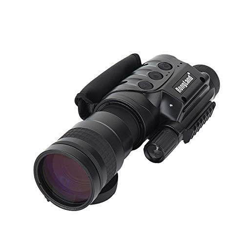Professionelles Digitales Nachtsichtgerät - Bildqualität der 2. Gen, Tag- und Nachtbetrieb, Auto-IR, Foto, Video, Videoausgang, 7x60mm, Black