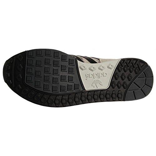 Adidas Herren Micropacer UND Snakeskin Sneakers Weiß / Schwarz / Grau