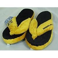 Missouri Tigers NCAA Flip Flop Thong Slippers