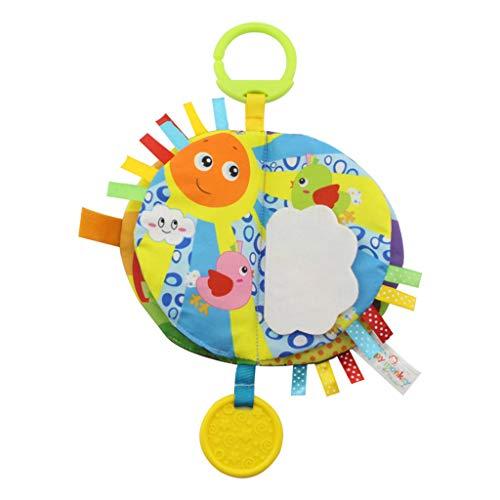 (JiaMeng Baby Armband mit Plüsch Rassel, Baby Handgelenk Tier Rassel Spielzeug Säuglingsplüsch Spielzeug Beste Baby Geschenke Früherziehung)