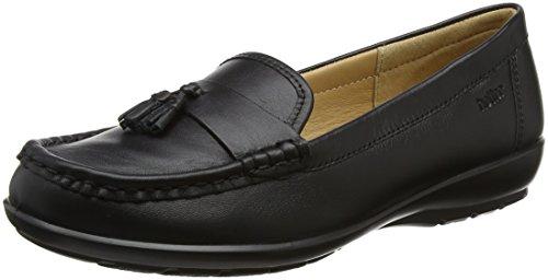 Hotter Women Abbeyville Loafers, Black (Black Multi), 6 UK 39 EU