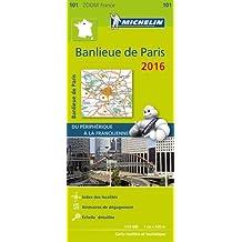Banlieue de Paris : 1/53 000