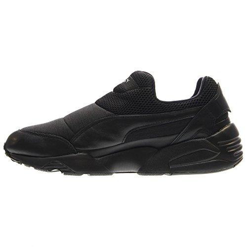 Puma Trinomic Sock X Stamp'd NM Cuir Baskets Black-Black