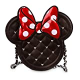 Sac à main Minnie Disney matelassé noir Noir EU