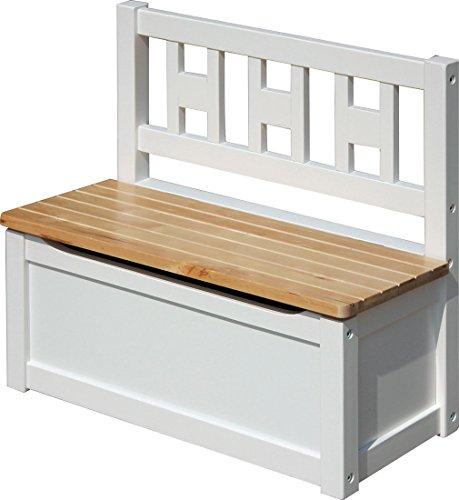 IB-Style - Kindersitzgruppe Luca | 3 Kombinationen | 1x Truhenbank - Stuhl Truhenbank Kindermöbel Tisch Kindertisch Kinderstuhl