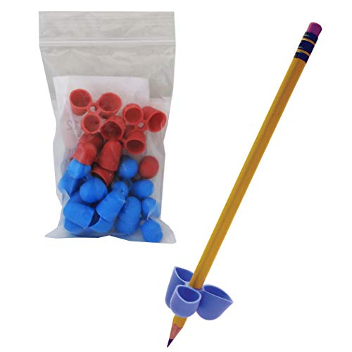 The Writing CLAW, Medium, 1/2, Blue and Red, 12 per Pack, Sold as 1 Package