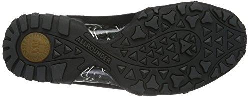 Allrounder by Mephisto - Funny Trend C.suede 1 Black, Scarpe da ginnastica Donna Nero (Nero (nero))