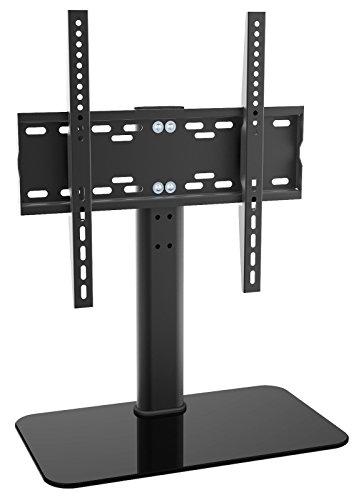 ricoo-lcd-tv-stander-fernsehtisch-standfuss-glas-standfuss-halterung-fs304b-hohenverstellbar-fernseh