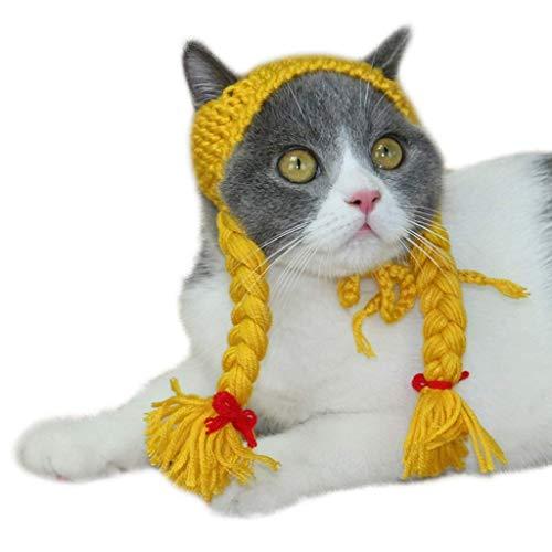 BALALALA Katzenkleidung, Halloween-Kostüm, geeignet für Katzen und