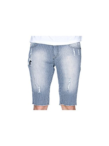 Volcom -  Pantaloncini  - Uomo Indigo Stripe