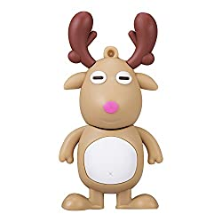 Sundarme Novelty Cute Animal ELK Deer Shape USB Storage Flash Drive Memory Stick Pen Drive (32GB, Brown)