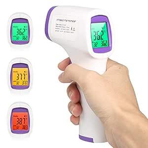 Infrarot Non Contact Temperaturpistole Digitalfür Kinder Baby Erwachsenen Mit Lcd Display Hintergrundbeleuchtung Baby