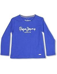 Pepe Jeans London Camiseta Manga Larga Lilith Azul Medio 6 años (116 cm)