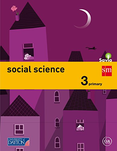 Social science. 3 Primary. Savia - 9788415743910 por Cristina Quincy