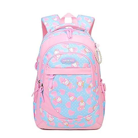 Yy.f New Hit Color Backpack Fashion Handbags Middle School Students Bag Shoulder Bag Stylish External Practical Internal Multi-color Bag,C-27*12*39cm