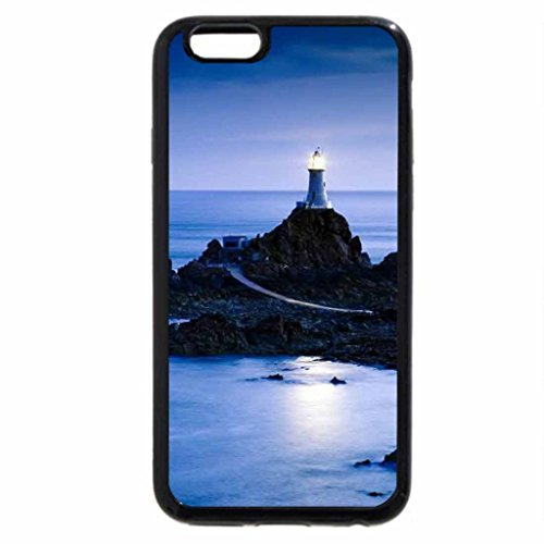 iPhone 6S / iPhone 6 Case (Black) Steadfast Lighthouse