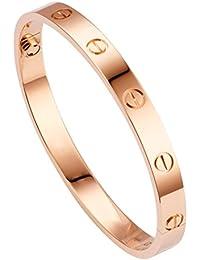Chandrika Pearls Gems & Jewellers Rose Gold Stainless Steel Unisex Bracelet