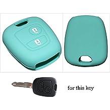 Juego de llaves de llave de coche Smart Remote Carcasa de silicona para Peugeot 10720730740710620630640620540510072botones 1pc Nueva