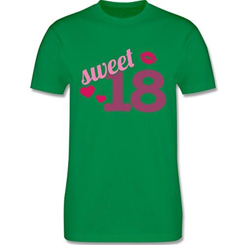 Geburtstag - Sweet 18 - Herren Premium T-Shirt Grün