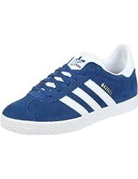 e6343d52bc68b Adidas Gazelle J, Chaussures de Fitness Mixte Enfant, Bleu (Reauni Ftwbla  000)