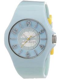 Miss Sixty R0751124506 - Reloj con correa de caucho para mujer, color azul / gris