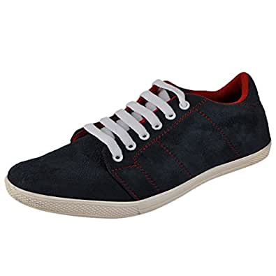 Marco Ferro Men's Blue Synthetic Sneakers (6 UK)