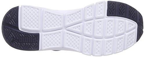 Puma Unisex-Erwachsene Flexracer Sneakers Blau (peacoat-white 03) Ltc294