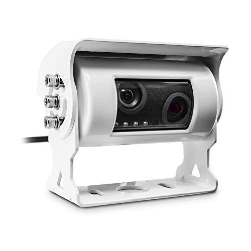 Carmedien Doppel Rückfahrkamera cm-DRFK3 Twin Rückfahr Kamera Doppelkamera für Wohnmobil -