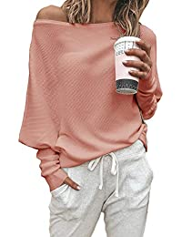 Women Sports & Outdoors ShuangRun Womens Long Sleeve V-Neck Lace Up Crop Sweatshirt Blouse Tops
