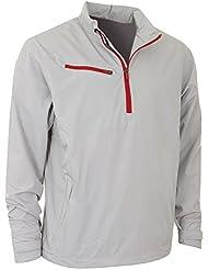 2014 Callaway Herren Weather Series Winddicht 1/4 Reißverschluss Golf Jacke