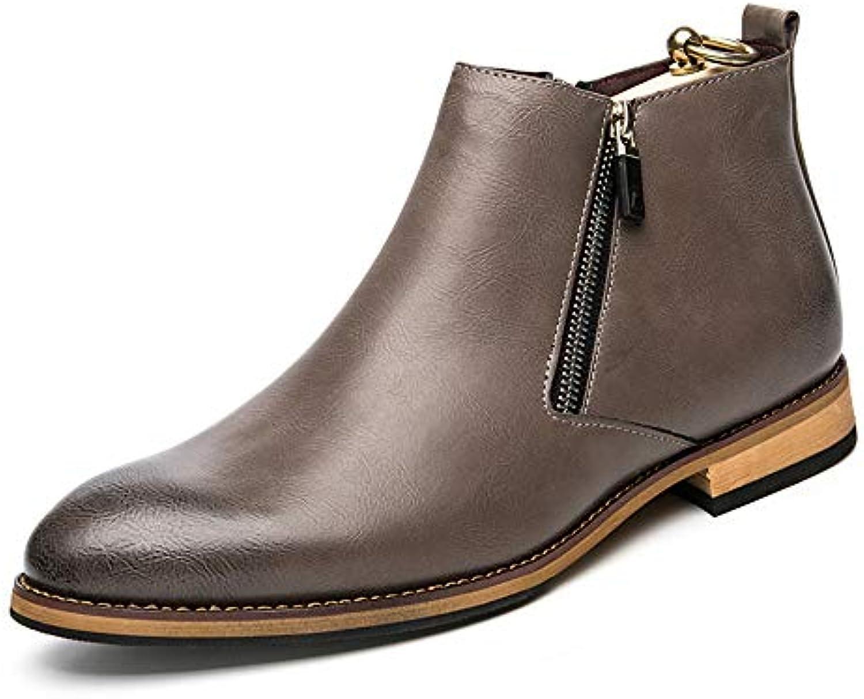XHD-Scarpe Stivaletti da Uomo semplici da Passeggio per Il Classico Stile Inglese di Alta Moda | Miglior Prezzo  | Uomini/Donna Scarpa