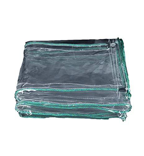 Preisvergleich Produktbild Zichen Plane Poly Tarp Schwere Plane Regen Schatten Tuch Plane Verdicktes Wasserdichtes Tuch Transparente Leinwand Balkon Regen Vorhang Sonnencreme PE Kunststoff Tuch (Size : 1.8X3.5M)