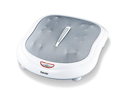 Beurer FM 60 Fußmassagegerät mit 18 Massageköpfen, Wärmefunktion, 2 Geschwindigkeiten