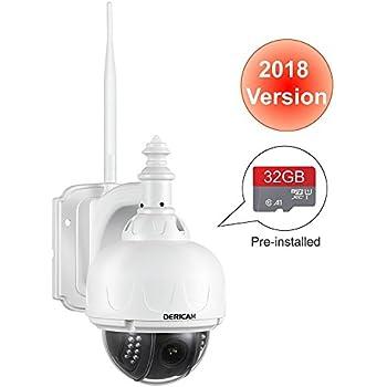 Floureon 1080p Ptz Dome Ip Camera Onvif 18x Zoom 2 0 Mp
