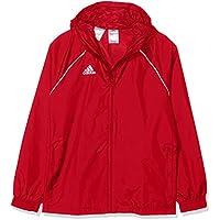 Adidas CV3743 Chaqueta, Unisex niños, Rojo (Power Red/White), L