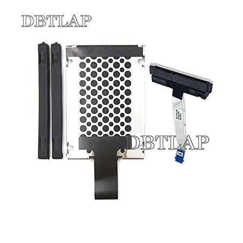 DBTLAP HDD Cavo Compatibili per HP Envy X360 15-BP 15M-BP 15-BQ 15-BQ175NR HDD Cavo & Caddy & Rubber Rail