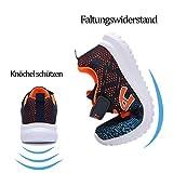 ZOSYNS Sneaker für Kinder, Schwarz - 5
