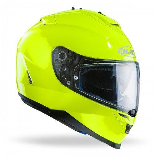 HJC 121537XL Casco Moto, Giallo Fluo, XL