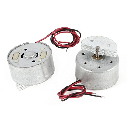 Sourcingmap  - 2 piezas de dispositivos de juego juguetes mini motor de vibración 3500 rpm dc 1.5-6v rf300