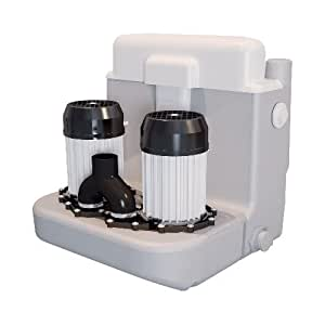 SFA Sanicom 2 - station de relevage à deux moteurs permettant d'évacuer les eaux provenant de salle de bains