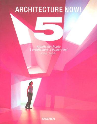 Architecture Now! : Tome 5, L'architecture d'aujourd'hui, édition français-anglais-allemand