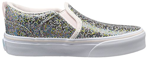VansMy Asher - Scarpe da Ginnastica Basse da ragazza' Multicolore (Glitter)